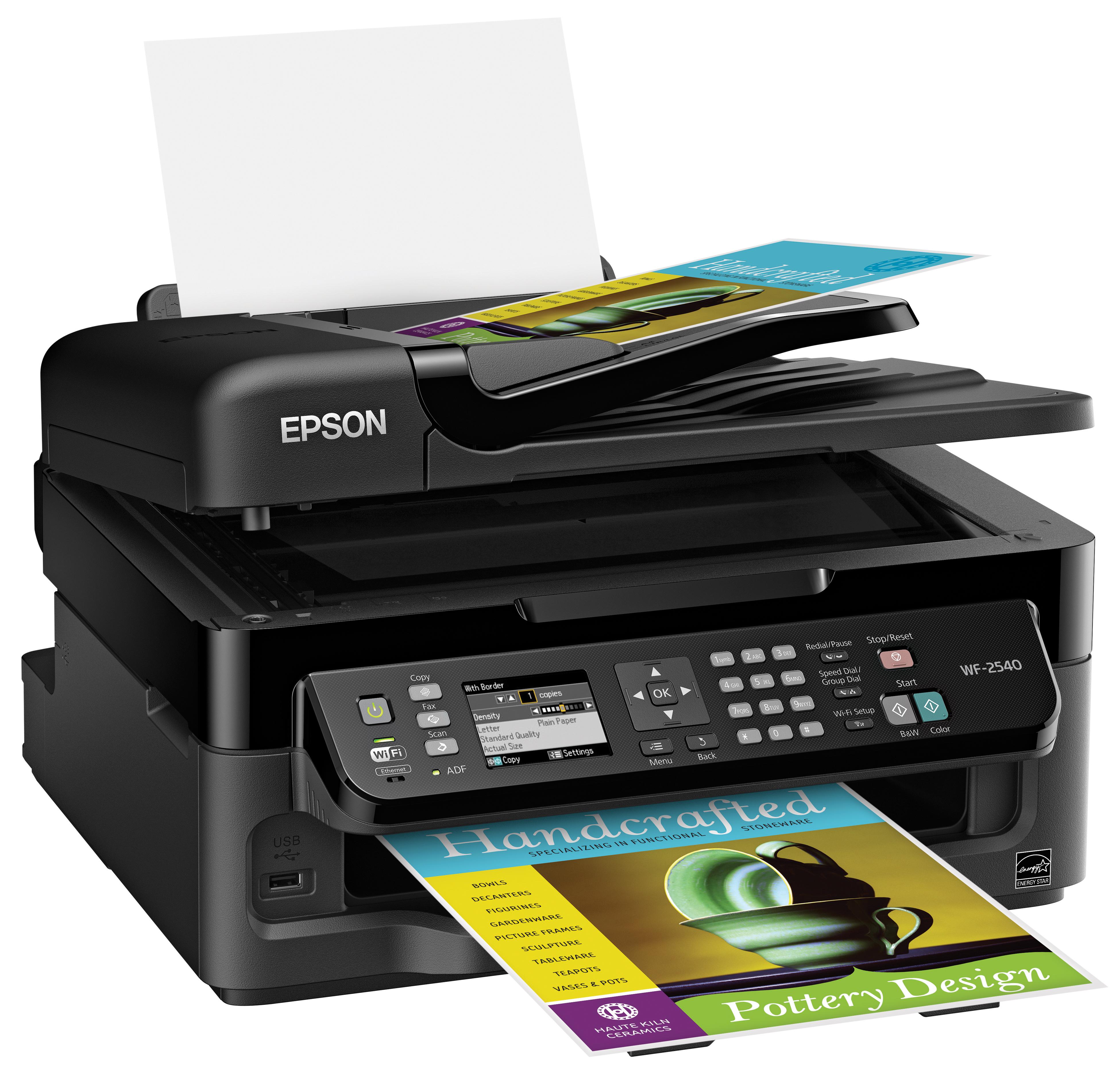 Почему не печатает черным цветом принтер