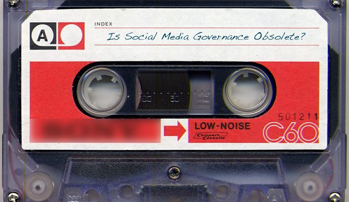 Is Social Media Governance Obsolete?