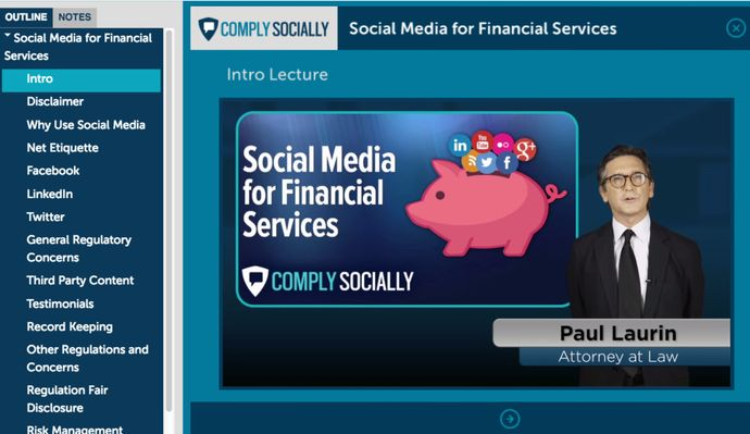 New Social Media Training for Financial Services
