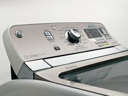 GE High-Efficiency Topload Washer Control Panel