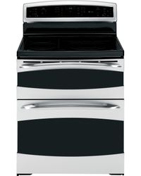 GE Profile™ double-oven range enabled with Brillion™ technology
