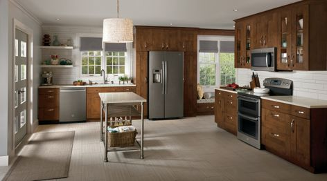 Perfect Slate, A New Appliance Finish By GE, Is A Warm, Grey, Metallic Hue With A  Low Gloss Finish, And A Compliment To Todayu0027s Modern Kitchen. Home Design Ideas