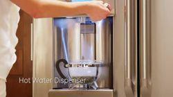 GE Café French door refrigerator