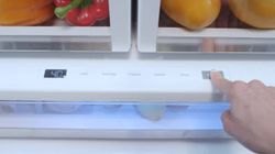 GE Café French door refrigerator's temperature-controlled drawer