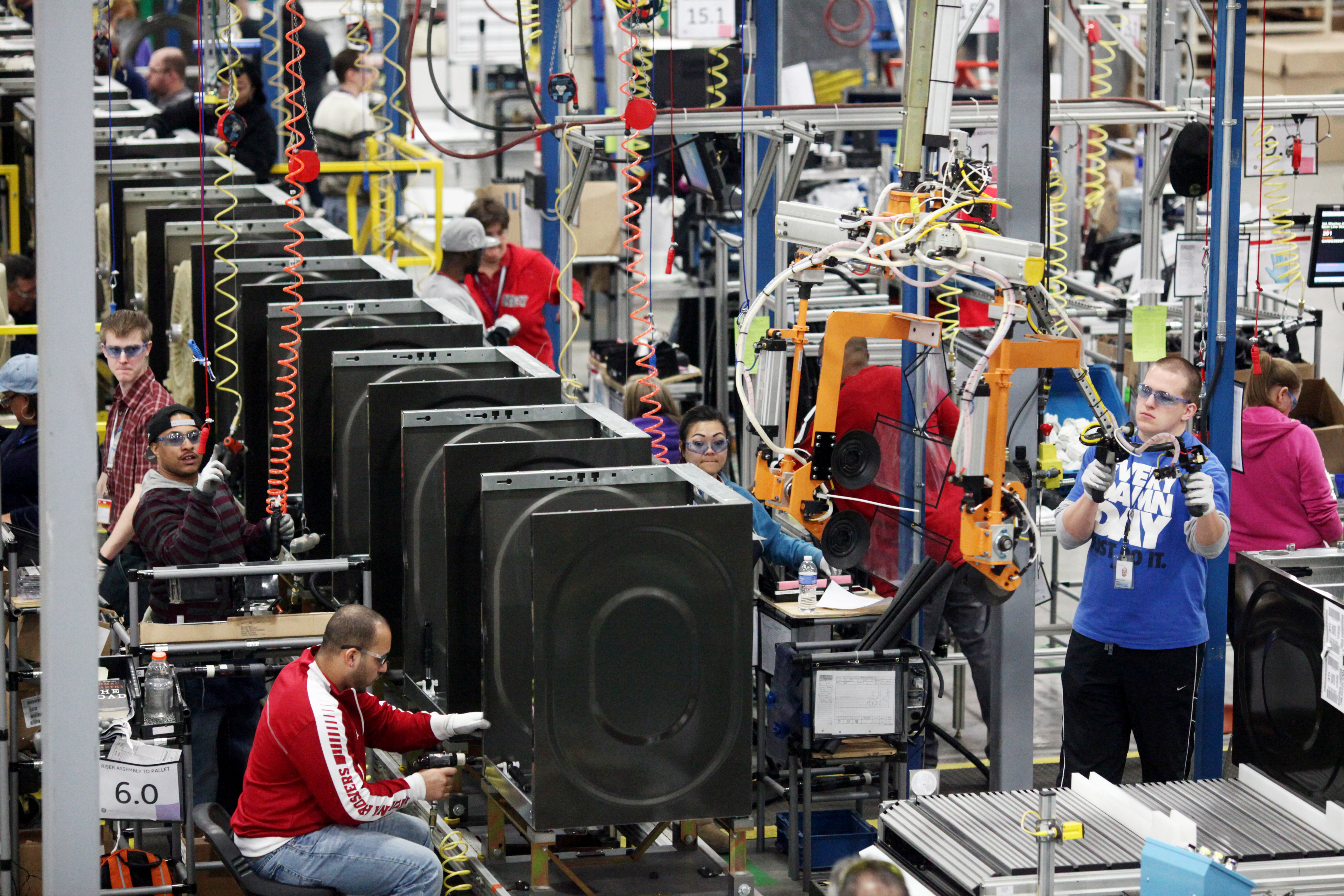 Ge Appliances Washing Machine Ge Selects Appliance Park For New Washer And Dryer Production