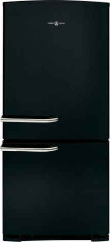 GE Artistry Series bottom-freezer refrigerator