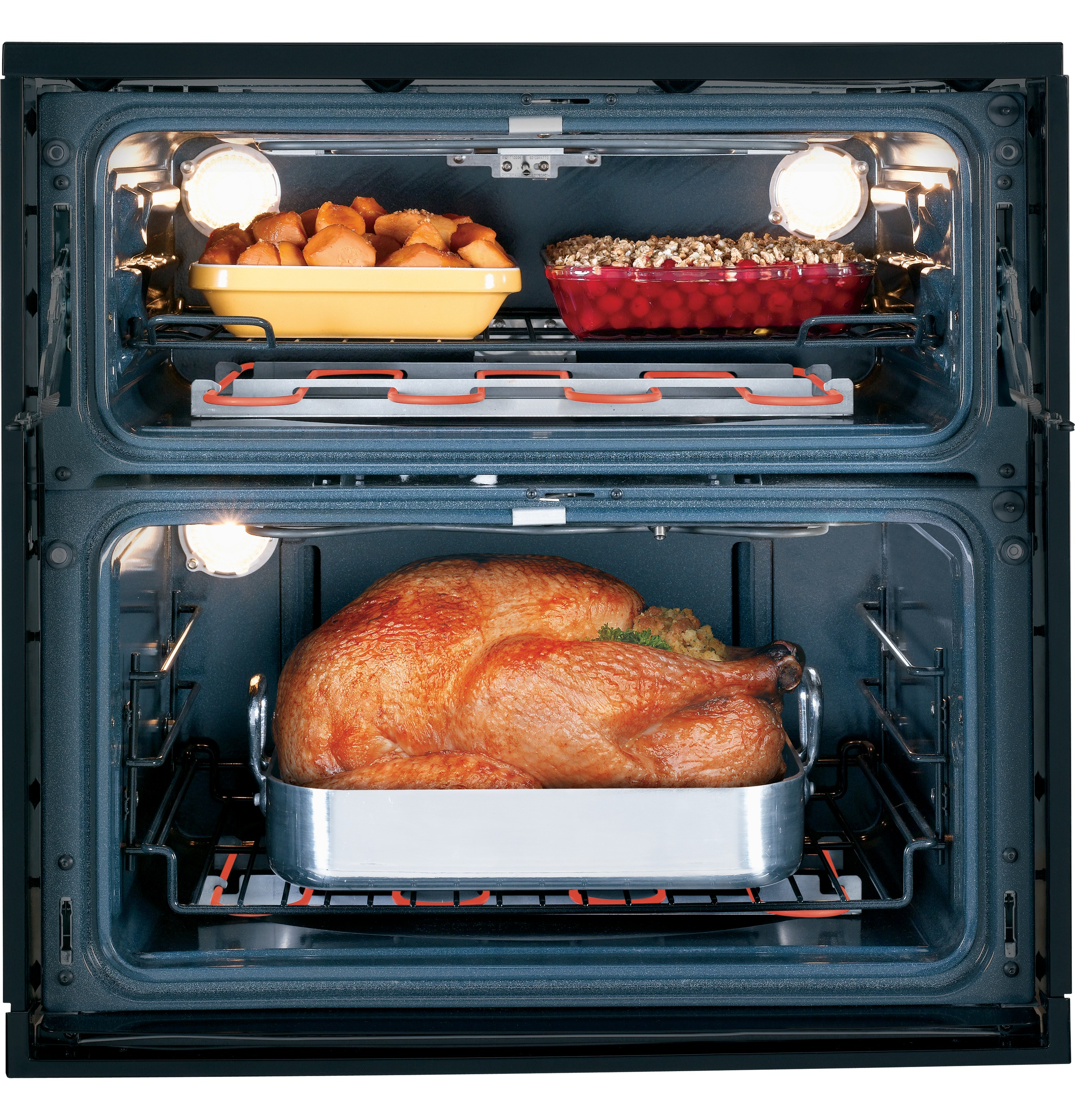GE Cooks Up Double Oven Versatility In One Small Space