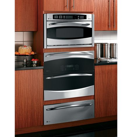 GE Cooks up Double Oven Versatility in One Small Space ...