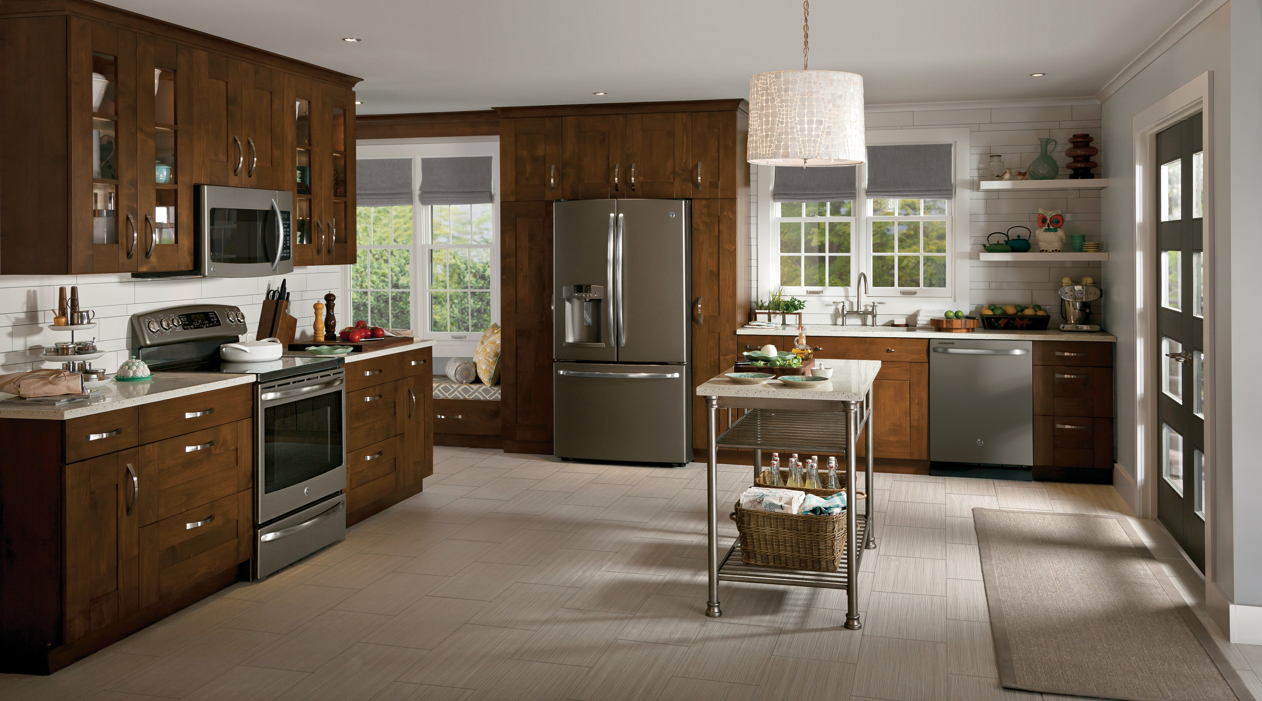 Design Ge Slate Refrigerator sleek and chic ge expands popular slate finish to more appliances slate