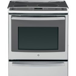 "GE Profile™ 30"" slide-in induction and convection range"