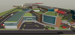 University of Louisville's planned Institute for Product Realization complex