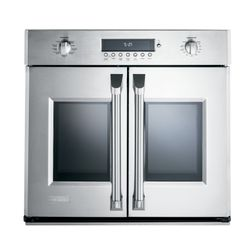 GE Monogram® French door wall oven