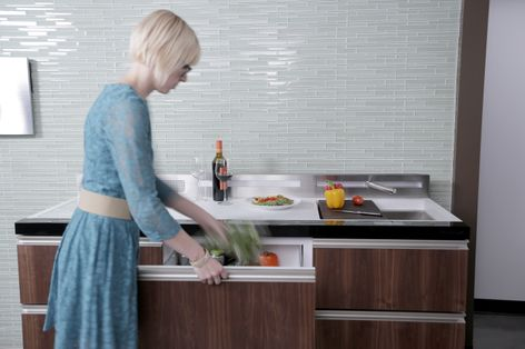Live Large In Small Spaces With Ge'S New Micro-Kitchen Concepts
