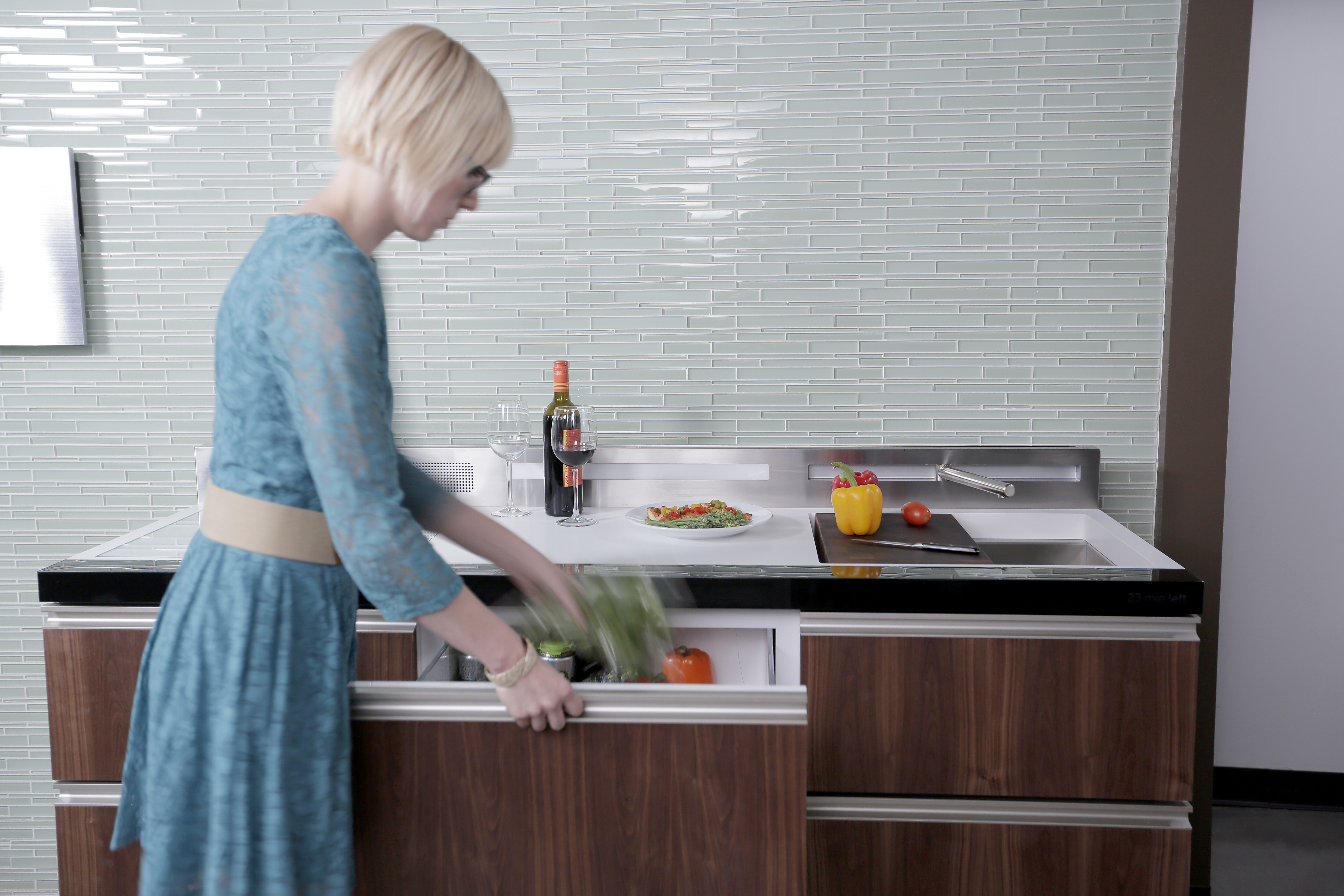 Live Large in Small Spaces with GEs New Micro Kitchen Concepts