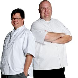 GE Monogram® Chefs Joe Castro and Brian Logsdon
