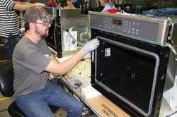 John Suggs, employee Roper Corporation plant in LaFayette, Ga.
