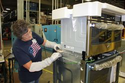 Jan Prince, employee at the Roper plant in LaFayette, Ga.