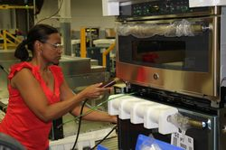 Wendy Scott, employee at the Roper plant in LaFayette, Ga.