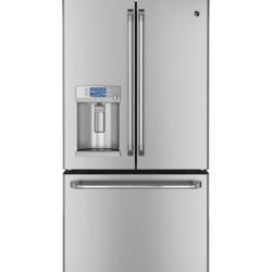 GE Café French door refrigerator with hot water dispenser