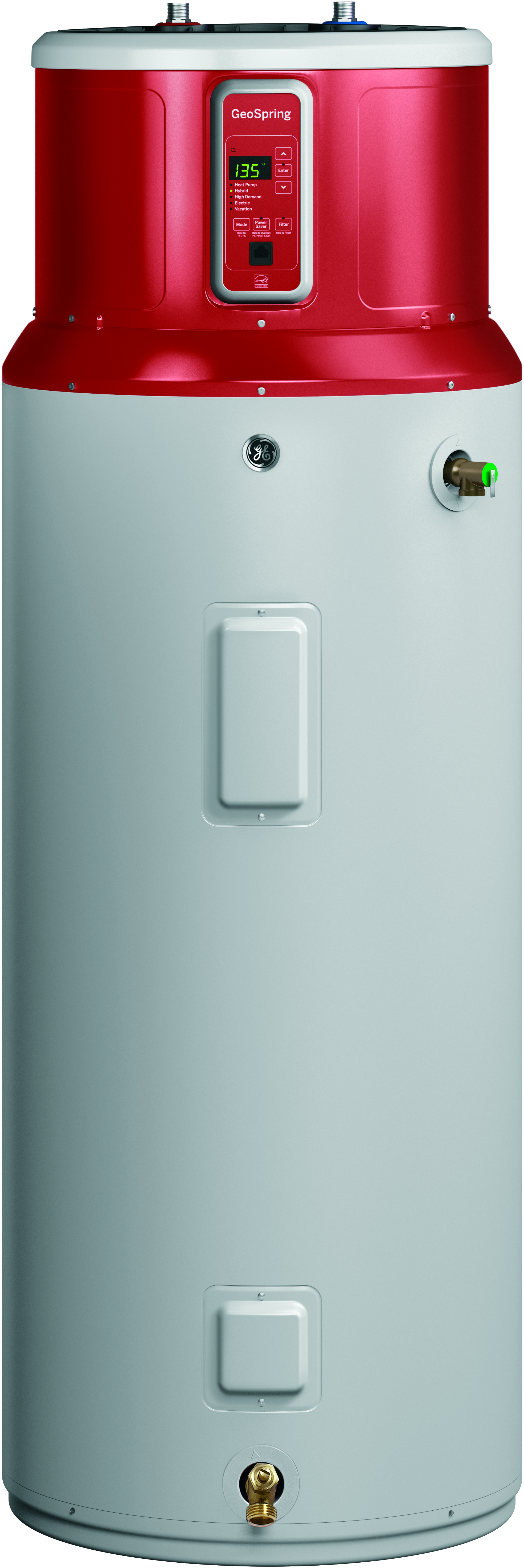 GE Introduces 80-Gallon GeoSpring™ Hybrid Electric Water Heater ...