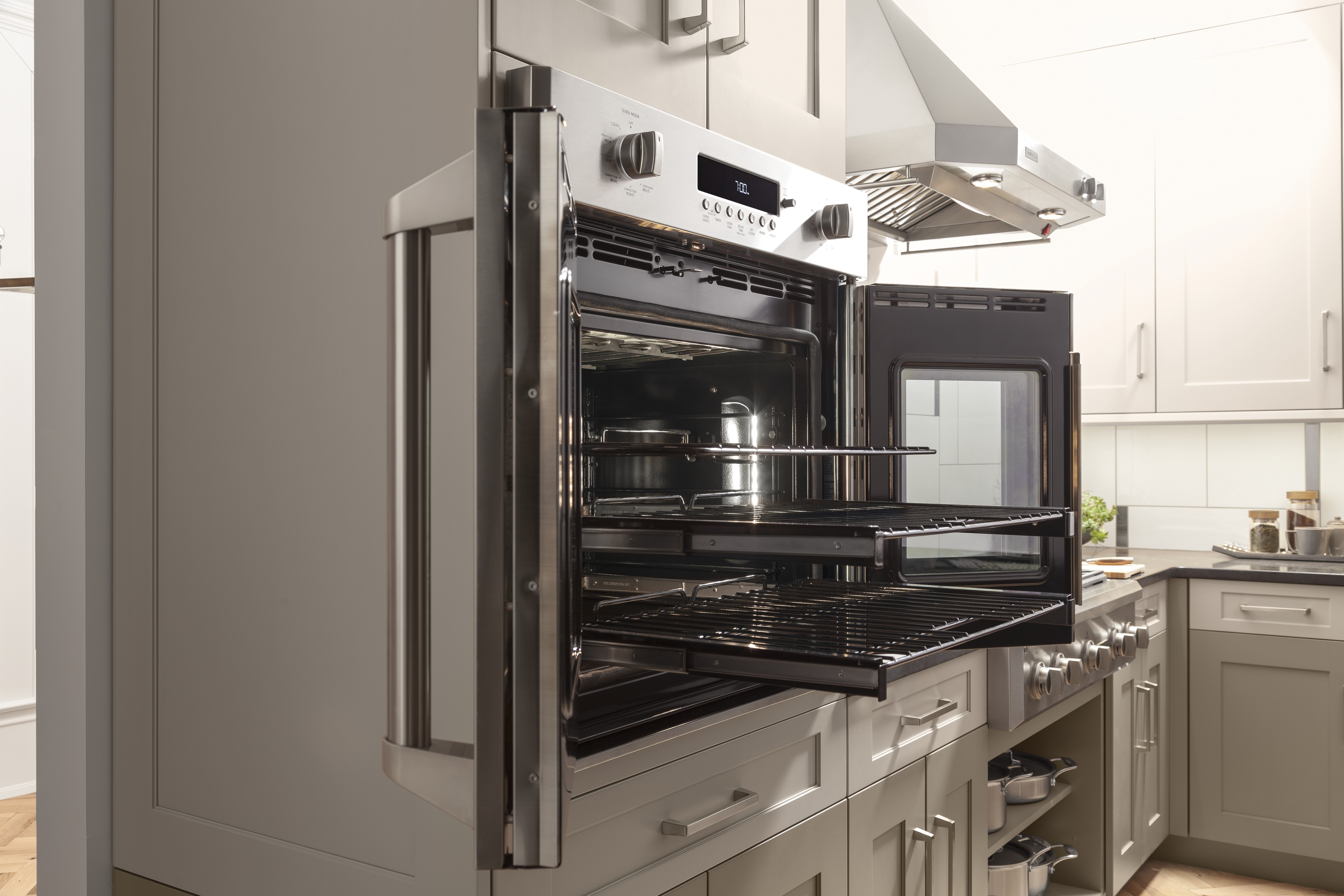 New Ge Monogram 174 French Door Wall Oven Puts Culinary