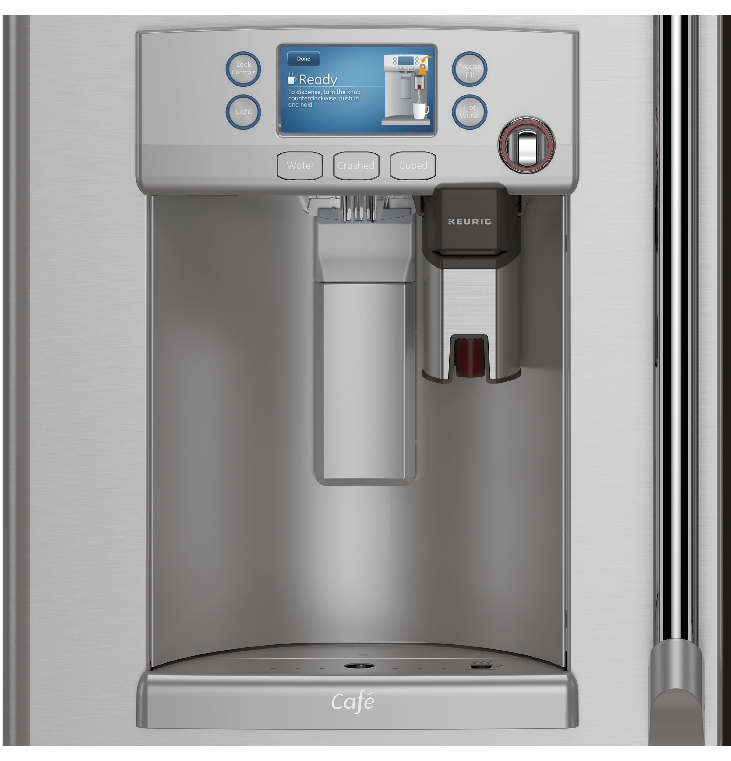 GE Appliances and Keurig Brew Up the Next Big Thing in Refrigeration GE Appliances Pressroom