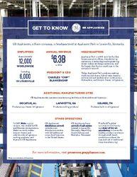 GE Appliances Fact Sheet
