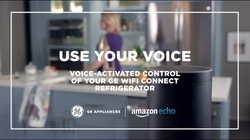 Use your voice: voice activated control of your GE Wi-Fi Connect refrigerator