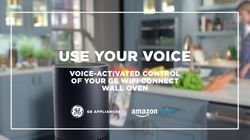 Use your voice: Voice activated control of your GE Wi-Fi connected wall oven