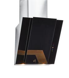 "24"" Black Glass Slanted Hood, HCH2400ACB"