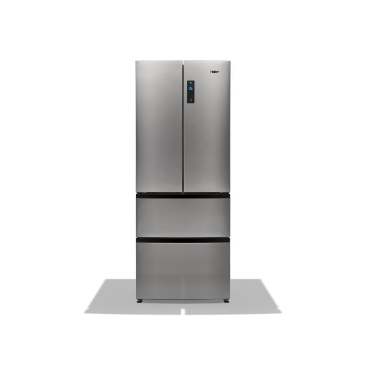 Haier quad-door bottom-freezer refrigerator, HRQ16N3BGS
