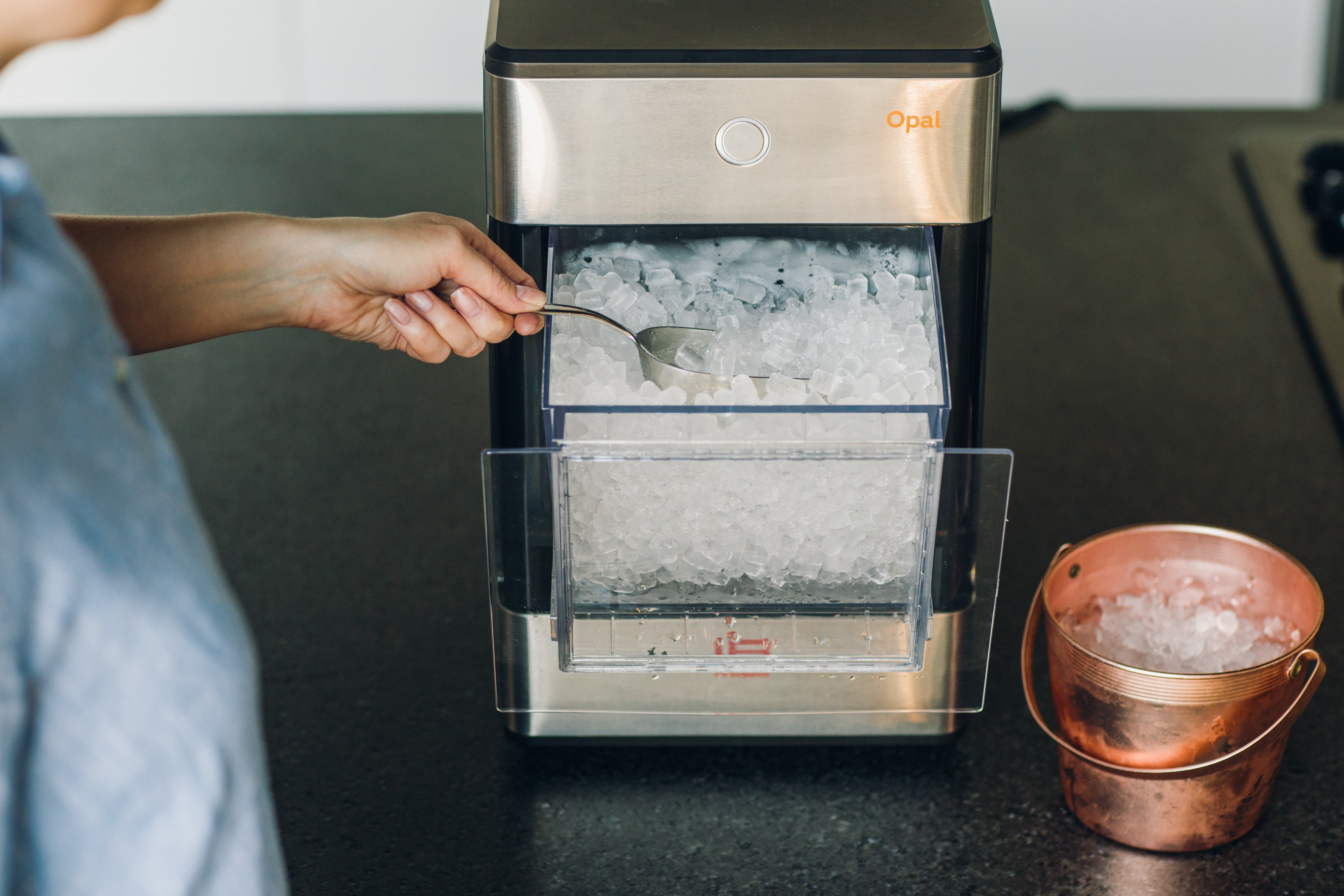 First Nugget Ice Maker For Home Use Launches