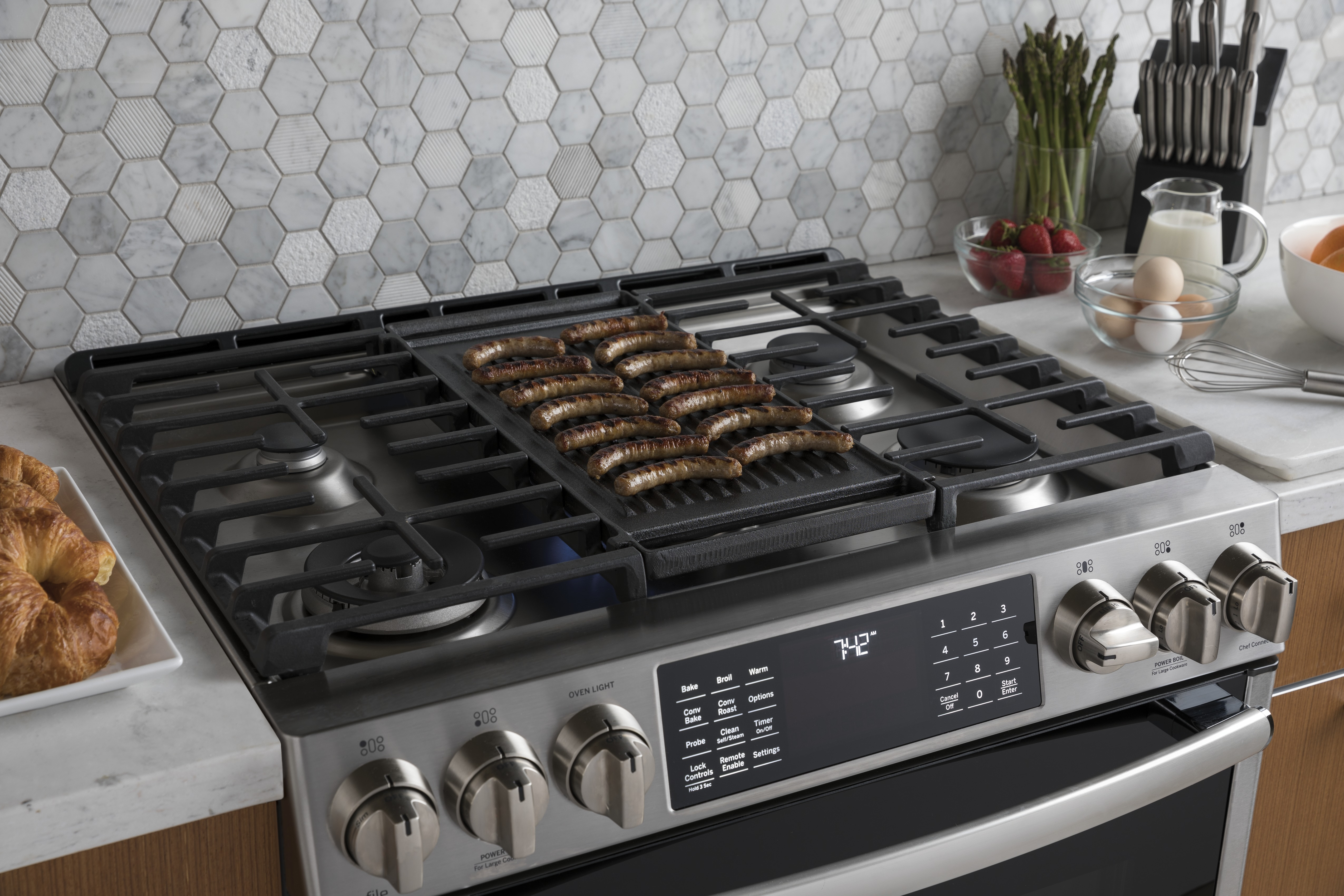 zoom countertop front samsung pdp sd at pacific steel cooktop stainless gas range sales