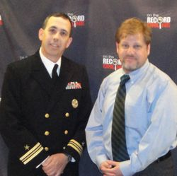 Guantanamo Public Affairs Chief, US Navy Lieutenant Commander Brook DeWalt, APR and Eric Schwartzman
