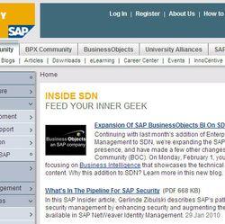 SAP-network