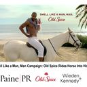 Old Spice campaign image
