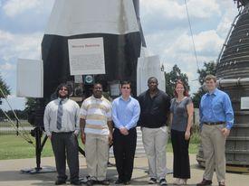 San Jacinto Collgege and UHCL Microgravityteam