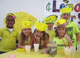 KidsU2015 promo Lemonade Stand from 2014