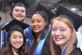 UHCL Spring 2016Commencement SCE Grads