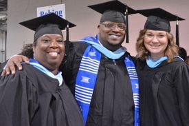 UHCL Spring 2016 Commencement SOE Grads