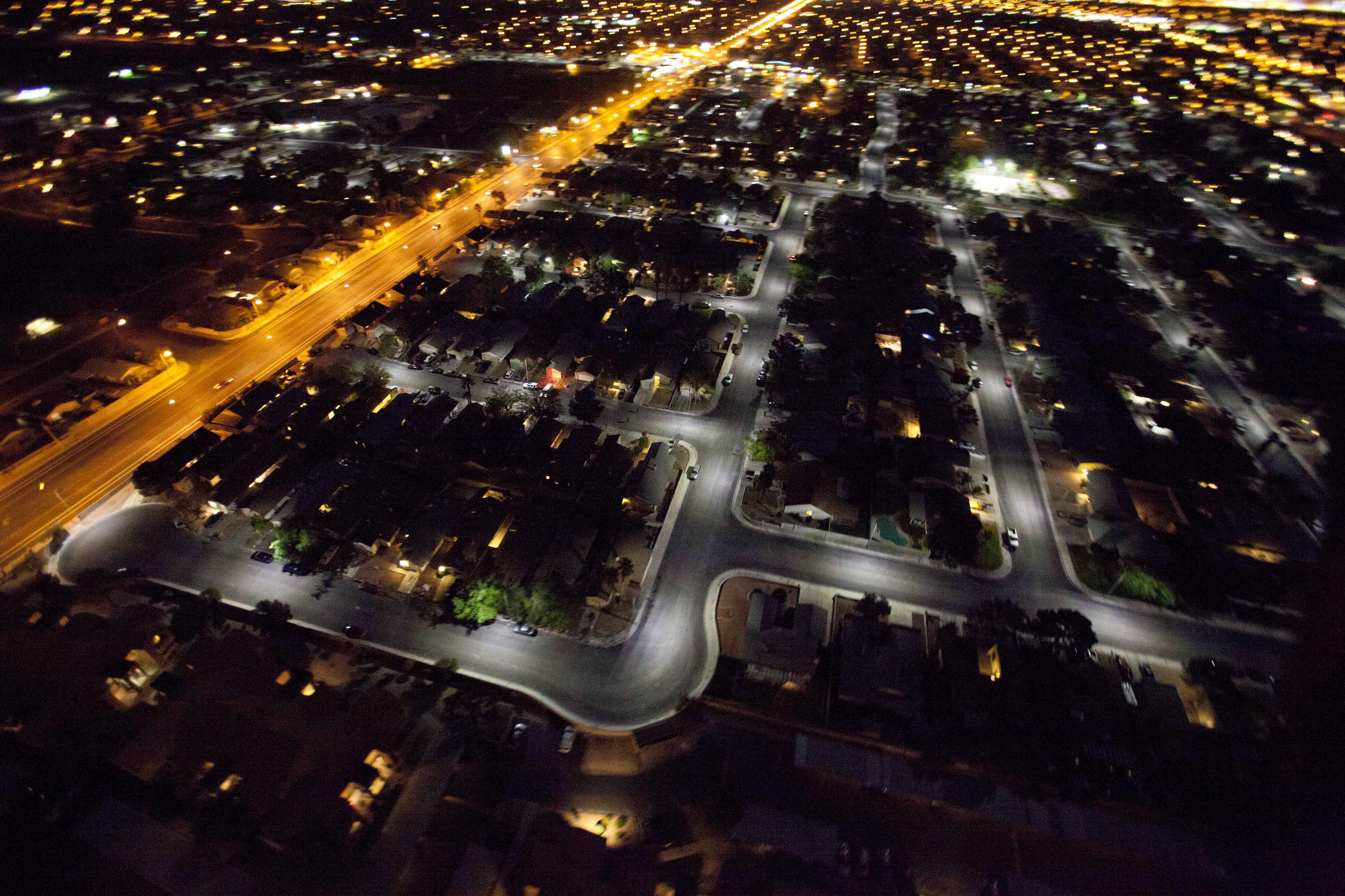 Energy-Efficient GE LED Street Lighting Works Wonders for ...