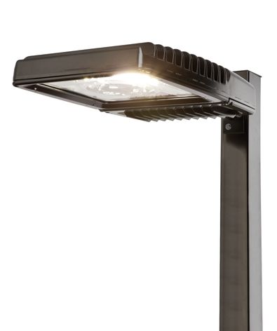 Ges scalable led area lights bring lots of options for parking with new evolve led scalable outdoor lighting fixtures from ge lighting its easier than ever for property owners to reduce energy use in parking lots and aloadofball Images