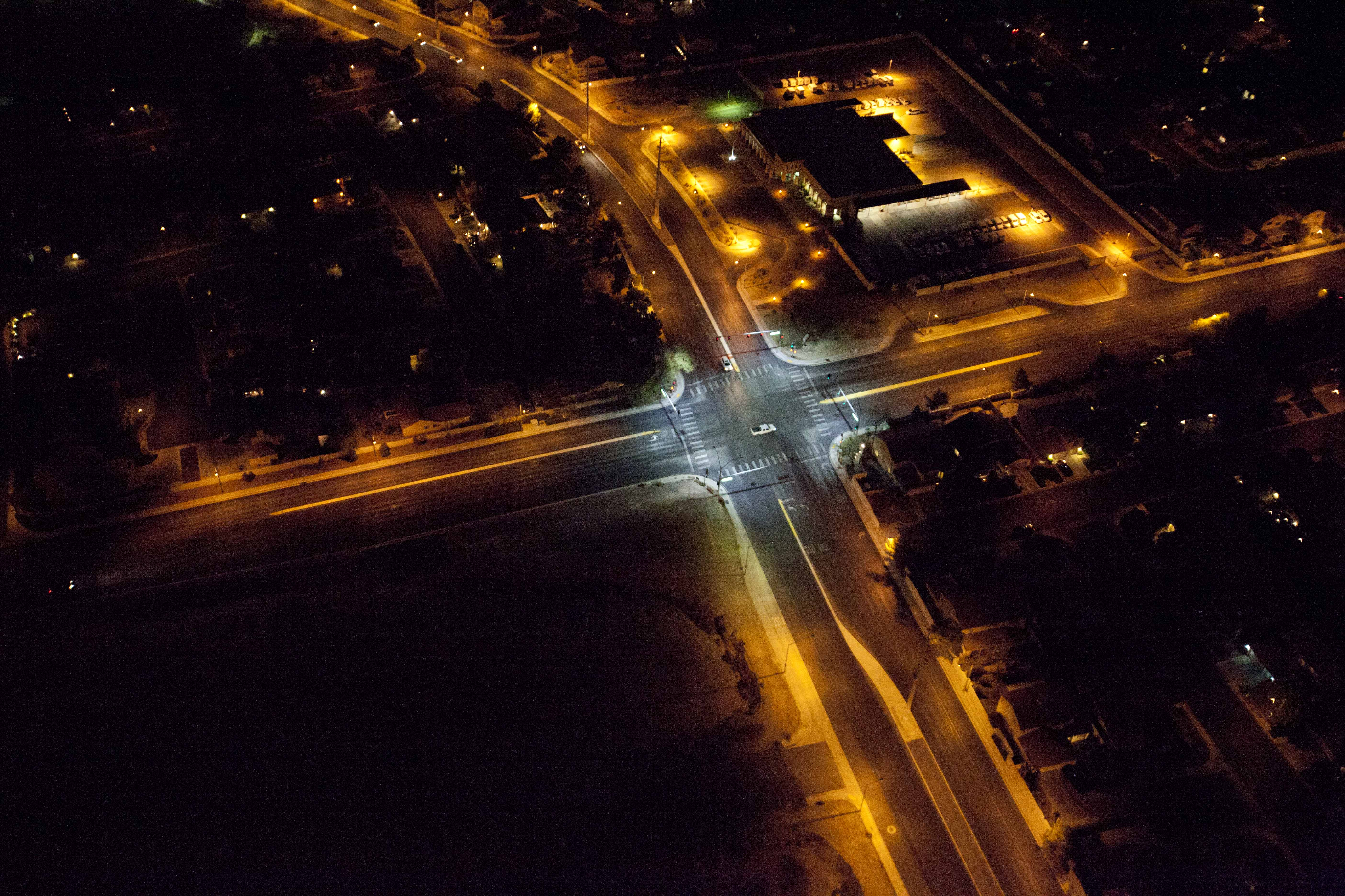 New commercial lighting options promise control of a brighter city of las vegas aloadofball Choice Image
