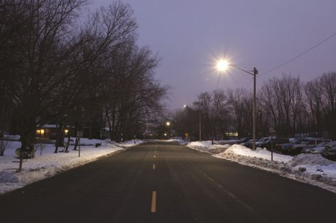 ges led street lighting fixtures put to test as part of With xcel outdoor lighting