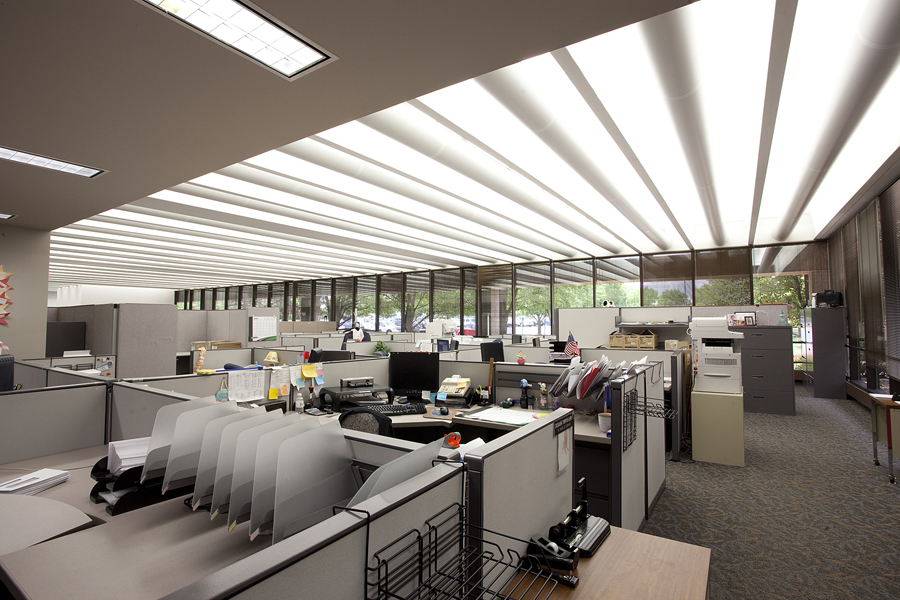 ge lighting examines six trends driving office lighting best practices