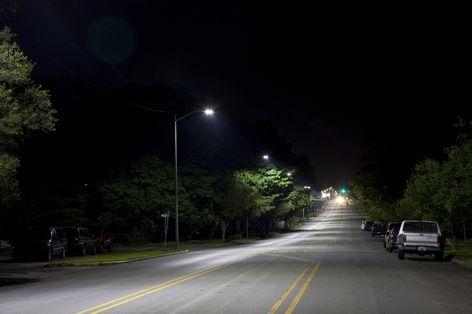Ge S Led Street Lighting Helps Impa Meet Shared Energy