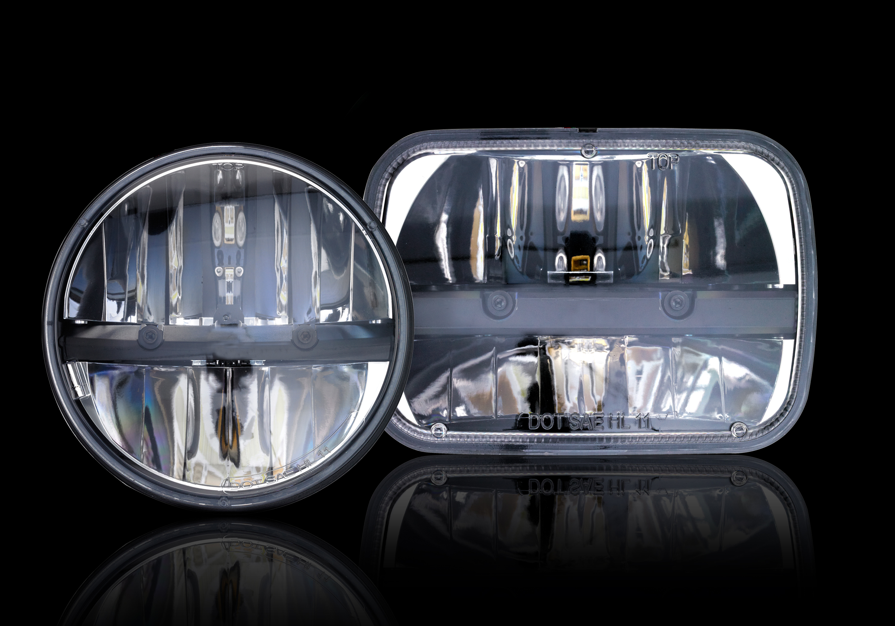 ge s nighthawk led headlights provide a long life rating and improved visibility for drivers. Black Bedroom Furniture Sets. Home Design Ideas