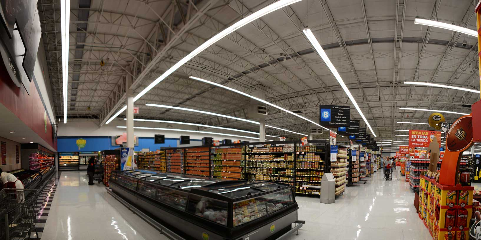 Walmart And Ge Transforming Retail Lighting With Energy Efficient Leds Globally Ge Lighting