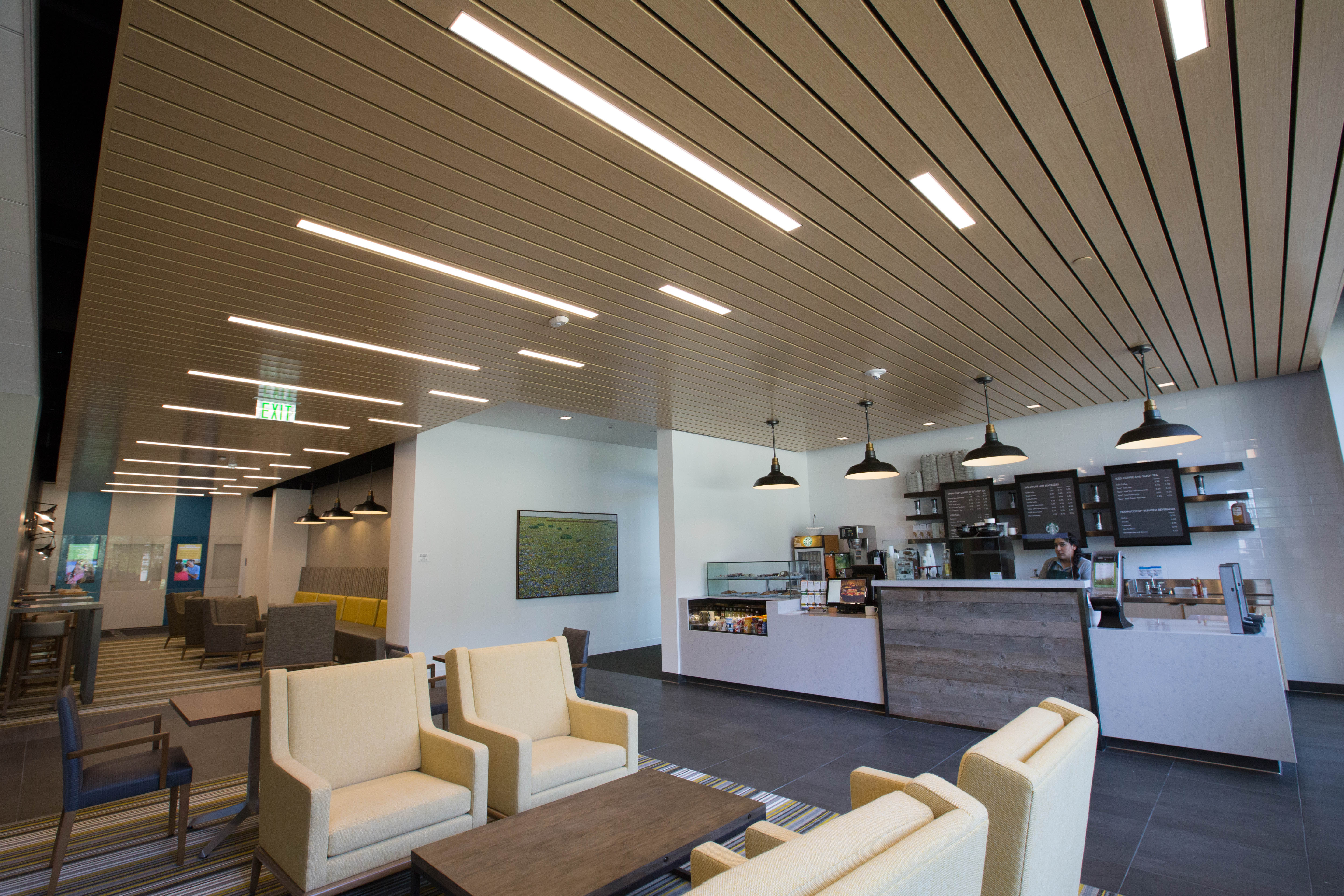 complete led lighting and controls solution for net zero energy office