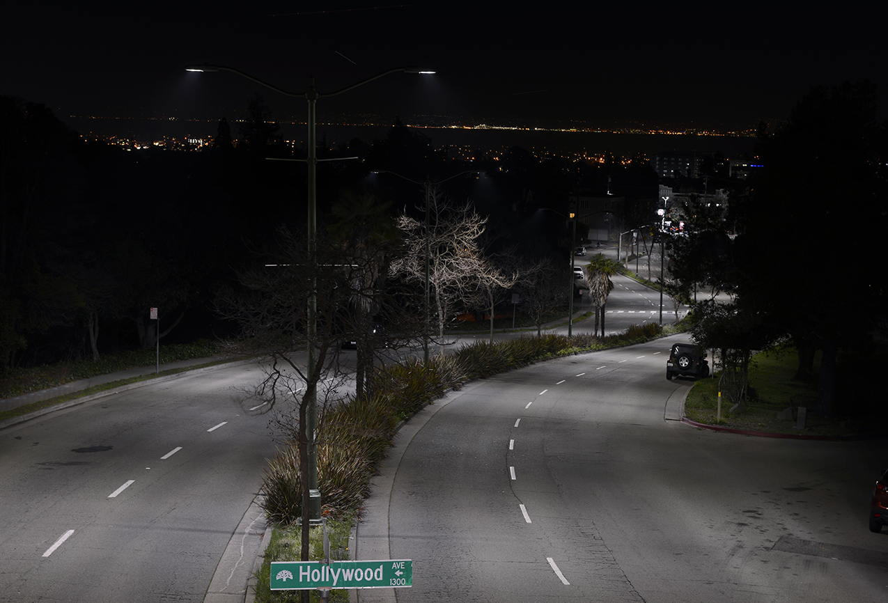 Ges led street lighting installation demonstrates ongoing ge led street lighting arubaitofo Choice Image